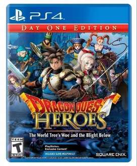 (Nuevo) Dragon Quest Heroes The World Tree s Woe and the Blight Below PlayStation 4 (PS4)