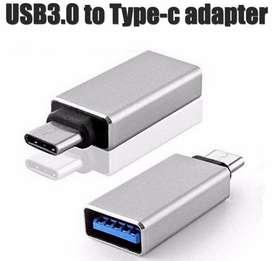 Adaptador Otb Usb 3.0 Hembra A Usb Tipo C