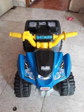 Vendo Moto Bateria Recargable Fisher