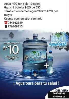AGUA  H2O FRESH  CON OFERTA