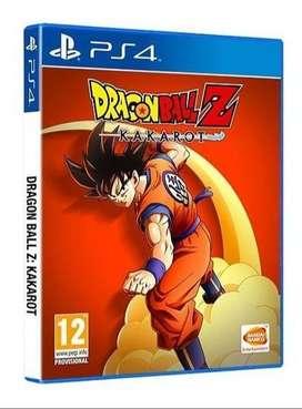 DRAGON BALL KAKAROT - PS4 FISICO Y DIGITAL