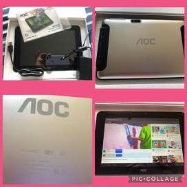 Tablet AOC 9 pulgadas como nueva,caja y accesorios,wifi
