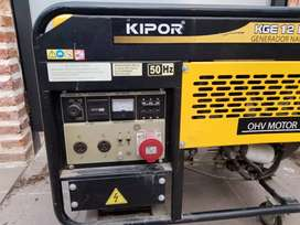 Vendo generador trifásico Kipor 10Kva naftero
