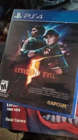 Resident Evil 5 Gold Edition PS4 Nuevo y Sellado