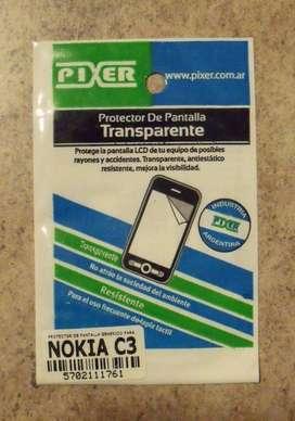Film Protector Pantalla Celular Nokia C3