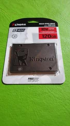 Disco solido Kingston de 120gb A400