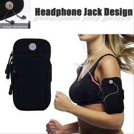 Brazalete Soporte de Brazo - lleva conveniente teléfonos móviles ,llaves , tarjetas, audifonos  mientras haces ejercicio