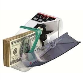 Maquina contadora de billetes digital portátil