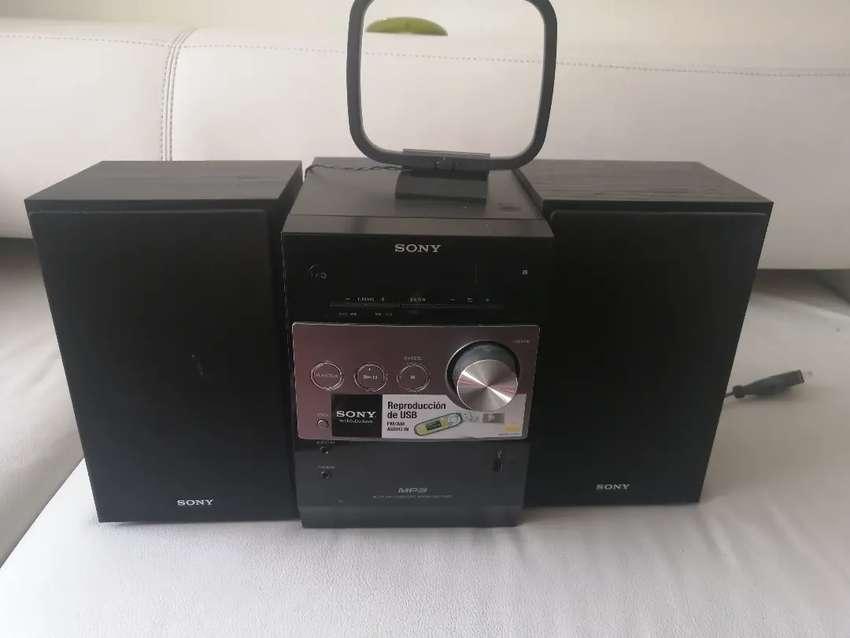 Mini componente Sony 0
