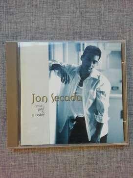 "Cd Jon Secada ""heart soul & a voice"