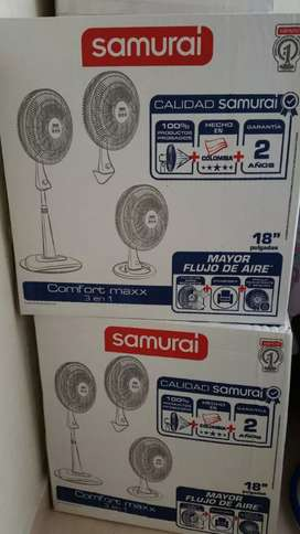 Ventilador samurái