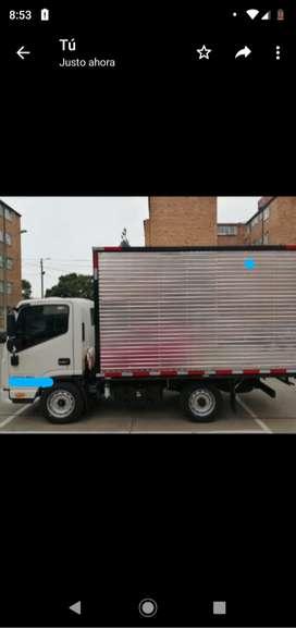 Vendo camión furgón  jac 2020 perfecto estado