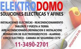 ELECTRICISTA INTEGRAL -MONOFASICA  Y TRIFASICA-