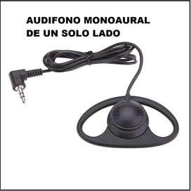 audifonos monoaural de un solo lado
