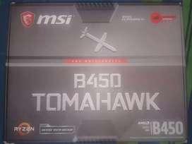 Motherboard B450 tomahawk