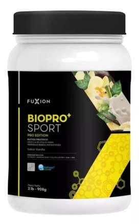 Suplemento vitaminico natural para gym Biopro+Sport-Fuxion(pote de 2Lb)