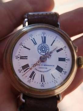 Reloj cuerda da mano o bolsillo primo y sobrinos