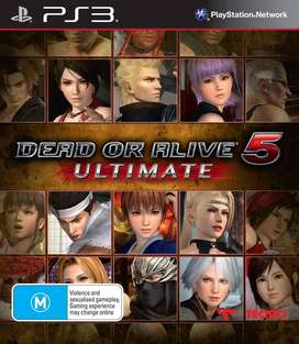 JUEFO FISICO PLAY 3 DEAD OR ALIVE 5