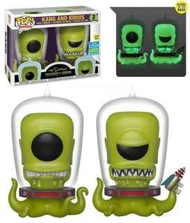 Funko Pop Marcianos Los Simpson Exclusiv