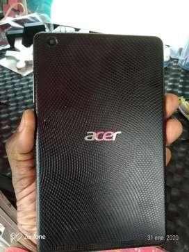 Vendo poderosa tablet marca Acer original con varias películas gravadas