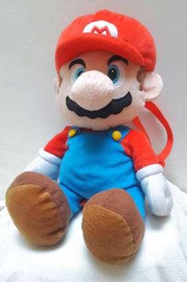Mochila-peluche de Mario Bros