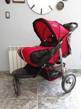 Coche bebé FELCRAFT 3 ruedas.
