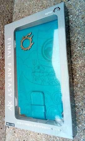 FF Final Fantasy XIV leather phone case, funda protector celular
