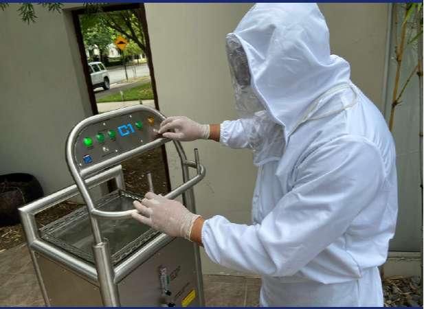 ¡Emprende en tu propio negocio con máquina de desinfección!!!