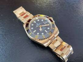 Rolex Submariner todo Oro!