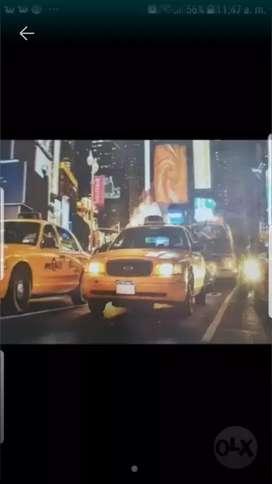 Necesito conductores de taxi, con experiencia