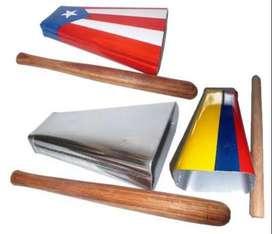 campana salsera cencerro puerto rico Colombia plateada