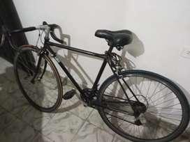 Bicicleta de ruta de hierro