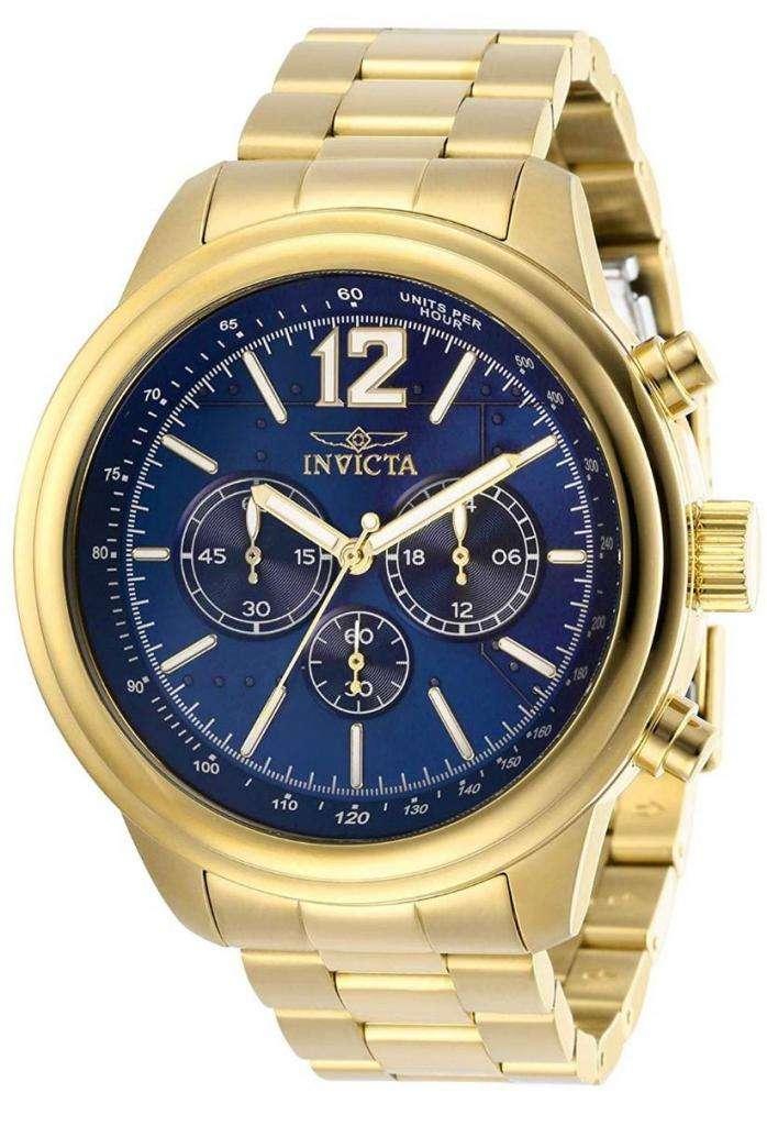 Reloj Invicta Aviator Modelo 28896 Acero Inoxidable hombre 0