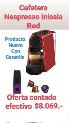 CAFETERA NESPRESSO-RED