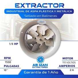 EXTRACTOR DE AIRE 10 PULGADAS