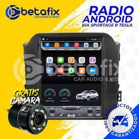 RADIO ANDROID KIA SPORTAGE R TESLA GPS BT USB WIFI BETAFIX