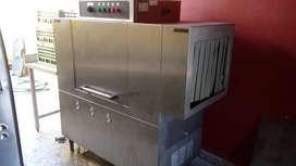 Lavavajillas Industrial Tunel Comenda Ac-90 100 Canastos/h