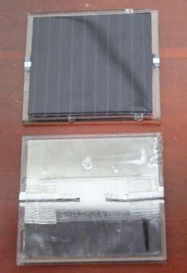 Celda Solar 5V Silicio Amorfo