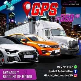 GPS Satelital- Monitoreado y rastreo GPS vehicular y apagado de Motor