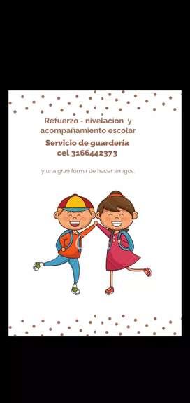 Refuerzo y nivelación - se cuidan niños