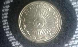 Moneda Argentina De 10 Pesos Del Año 1978