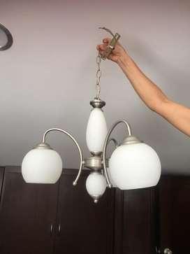Vendo lampara para comedor o sala