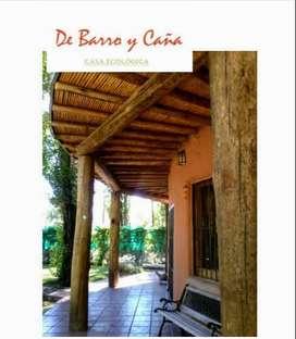 Alquiler temporario De Barro y Caña - Un lugar atractivo, diferente y lleno de esencia.