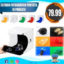 ESTUDIO FOTOGRAFICO PORTATIL (6 COLORES)
