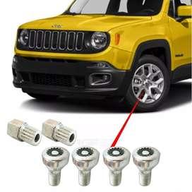 tuercas antirrobo jeep renegade