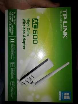 Placa de Red Wifi Usb. con Antena.