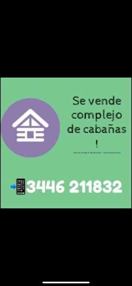 Vendo Complejo de Cabañas Gualeguaychú