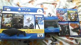 PS4 megapack ( USADO) + DUALSHOCK4+4 JUEGOS