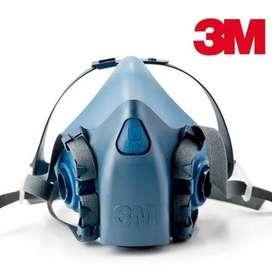 Antifaz o mascara 7502 azul 3m Siliconada - media cara