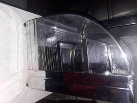 Vitrina de calefacción eléctrica